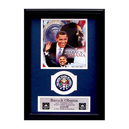 Encore Select Barack Obama Collage with Presidential Commemorative Patch in 12