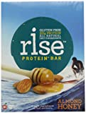 RiseBar Protein Almond Honey,  2.1 oz. Bars, 12-Count