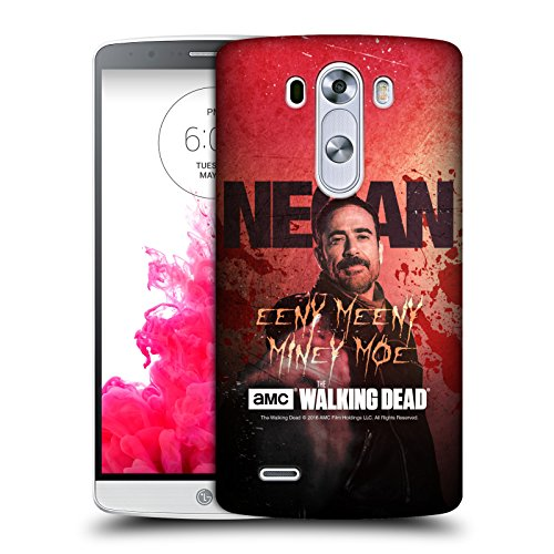 Official AMC The Walking Dead Eeny Miney Coloured Negan Hard Back Case for LG G3 / D855 / D850 / D851 (Lg G3 Phone Case Walking Dead compare prices)