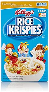 Kellogg's Rice Krispies, 34.4 Oz