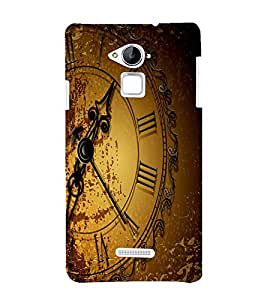Clock Back Case Cover for Coolpad Note 3