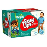 Pampers Easy Ups Trainers for Boys Size 6