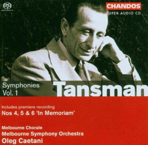 TANSMAN / MELBOURNE SYMPHONY ORCHESTRA / CAETANI