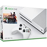 Xbox One S 1TB Console- Battlefield 1 Bundle (Color: Black, Tamaño: 12)