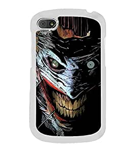 Scary Character 2D Hard Polycarbonate Designer Back Case Cover for BlackBerry Q10