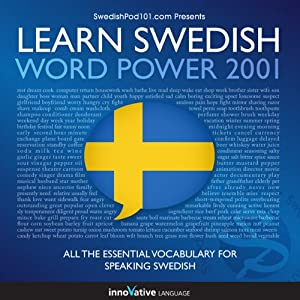 Learn Swedish - Word Power 2001 Audiobook
