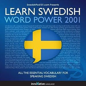 Learn Swedish - Word Power 2001 Audiobook
