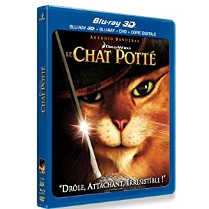 Le Chat Potté [Combo Blu-ray 3D + Blu-ray + DVD + Copie digitale]