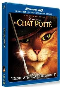 Le Chat Potté [Combo Blu-ray 3D + Blu-ray + DVD + Copie digitale]