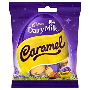 Cadbury Dairy Milk Caramel Egg Minis 86 g (Pack of 25)
