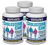 Cholesterol Care Supplement - All Natural Cholesterol Health Support Formula (3 bottles/180 Tablets)