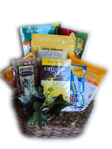 Certified Organic Cancer Patient Get Well Basket