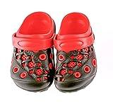 Lilsta Unisex Red Rubber Sandals (29)