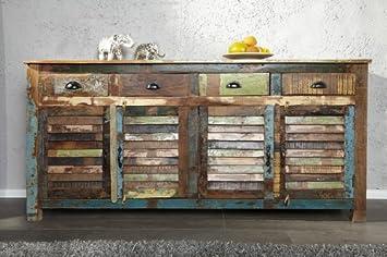 DuNord Design cómoda madráa de madera reciclada 180 cm