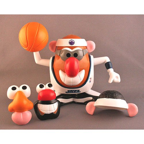 Utah Jazz Mr Potato Head