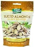 Fresh gourmet Sliced Almonds, Honey Roasted, 3.5 Ounce
