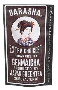 GARASHAガラシャ日本茶玄米茶グリーンティーgreenteトライアングルティーパック日本の心を海外へのお土産として