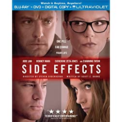 Side Effects (Blu-ray + DVD + Digital Copy + UltraViolet)