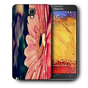 Snoogg Pink Gerbera Flower Printed Protective Phone Back Case Cover For Samsung Galaxy NOTE 3 NEO / Note III