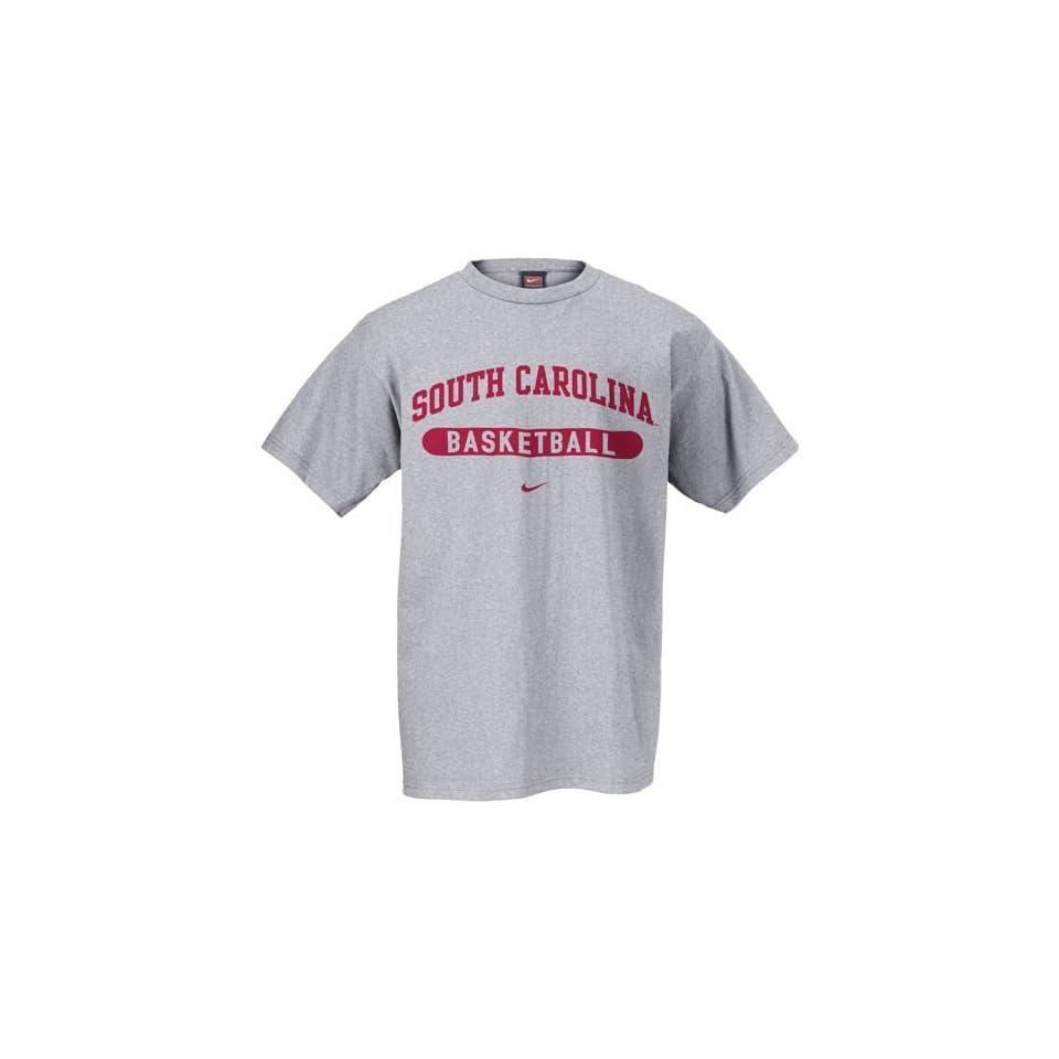 Nike South Carolina Gamecocks Ash Basketball T shirt