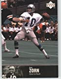 1997 Upper Deck Legends Football Card # 177 Jim Zorn - Seattle Seahawks - NFL Trading Card at Amazon.com