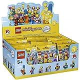 Lego Minifigures - 71009 - Les Simpsons - Série 2 - 60 Sachets Mystères - Modèle Aléatoire