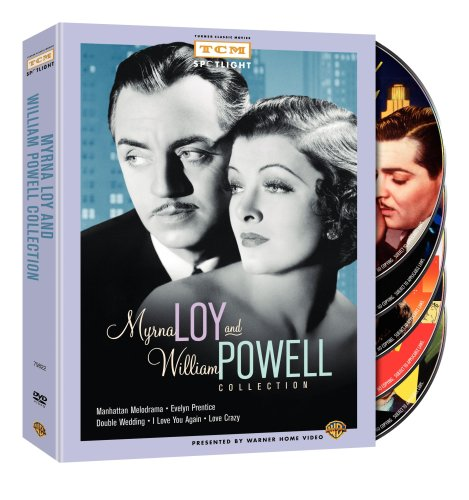 Cover art for  Myrna Loy and William Powell Collection (Manhattan Melodrama / Evelyn Prentice / Double Wedding / I Love You Again / Love Crazy)