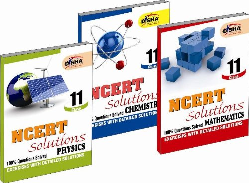NCERT Solutions Class 11 - PCM (Set of 3 Books)