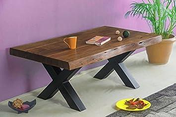Chennai Couchtisch 115x65 cm Wohnzimmertisch / Holztisch Akazienholz Tisch