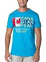 CANADIAN PEAK Camiseta Manga Corta Jiltord (Azul)