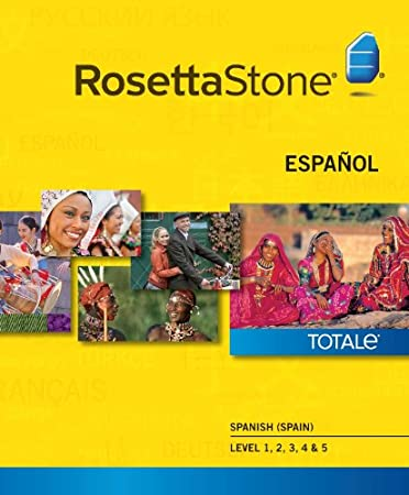 Rosetta Stone Spanish (Spain) Level 1-5 Set   [Download]