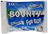 Mars Chocolate Bounty Milk Fun Size 303g bags (Pack of 10, Total 160 bars)