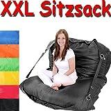Sitzsack 200 x 140 cm in verschiedenen Farben - Sitzkissen Bodenkissen Sessel Sofa Kissen Sitz Sack -