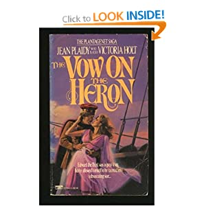 The Vow on the Heron - Jean Plaidy