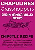 Chapulines (grasshoppers) - Gourmet edible insects from Oaxaca Mexico (Chipotle recipe) (Mercado Mio 2.8oz)