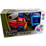 Keenway Build and Play Construction Vehicles (Fire Engine)