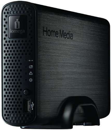 Iomega 1 TB Home Media Network Hard Drive Cloud Edition 34763 (Gray)