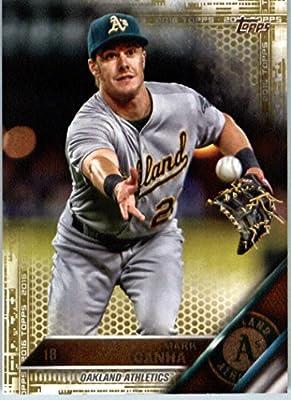 2016 Topps Series 2 #509 Mark Canha Oakland Athletics Baseball Card-MINT