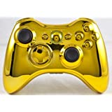 Gold Xbox 360 Modded Controller Including Rapid Fire COD MW3, Black Ops, MW2, Black Ops 2, Advanced Warfare, Ghosts...