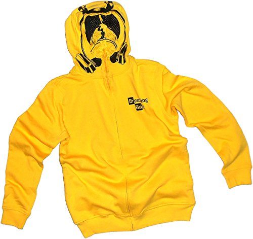 [Chem Suit Costume -- Breaking Bad Hooded Zipper-Fleece Sweatshirt, XX-Large] (Breaking Bad Jesse Costumes)