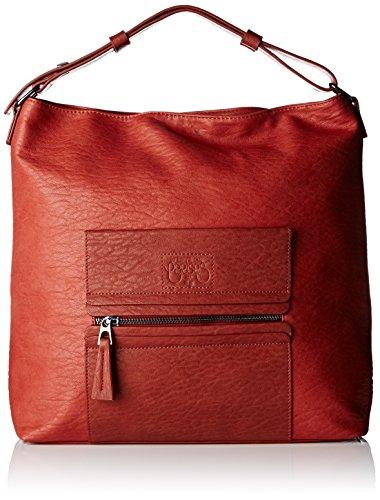 Le Temps des Cerises Kaori 2, Borsa a spalla donna, Rosso (terracotta Rouge Terracotta Claire Aa10), taglia unica