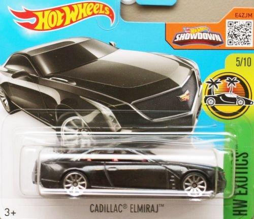 HOT-WHEELS-Cadillac-Elmiraj-164-schwarz-metallic-Edition-HW-Exotics