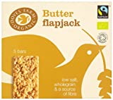 Doves Farm Organic Traditional Buttery Flapjack 5 Bars (Pack of 6,Total 30 Bars)
