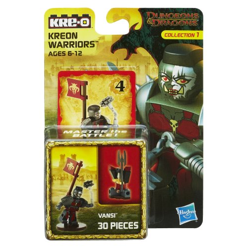 KRE-O Dungeons & Dragons Kreon Warriors Vansi Kreon Set (A7713)