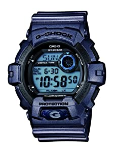 Casio G-Shock Black Dial Men's Quartz Watch - G8900SH-2