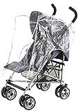 Baby Elegance-Cubierta de Lluvia (_ _ _ _ _ _ _ _ _ _ PARENT negro Talla:4 Wheel