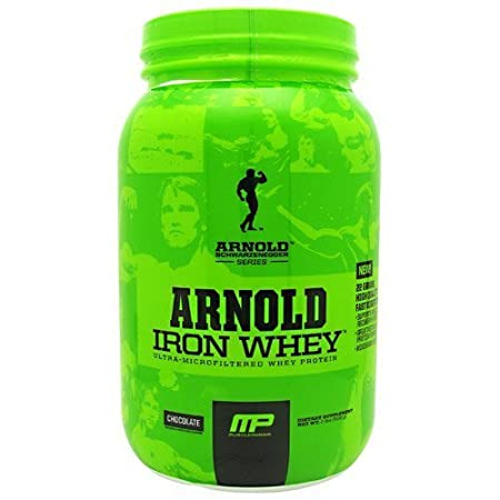 2 lb (908g) Chocolate Iron Whey by ARNOLD BY MUSCLEPHARM Protein Supplements by Arnold By Musclepharm (English Manual)