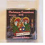 Disney Lady & the Tramp Christmas Countdown 2012 Pin LE of 500