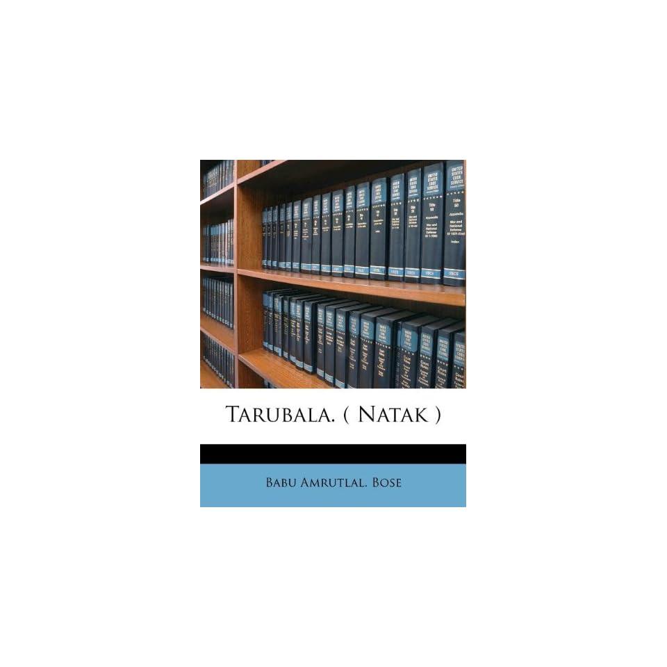 Natak ) (Marathi Edition) (9781179594644) Babu Amrutlal. Bose Books