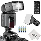 Neewer-TT560-Speedlite-Flash-Kit-for-Canon-Nikon-Olympus-Fujifilm-and-any-Digital-Camera-with-a-Standard-Hot-Shoe-Mount-Includes-1TT560-Flash-1Universal-Portable-Softbox-Flash-Diffuser-1Universal-5-in